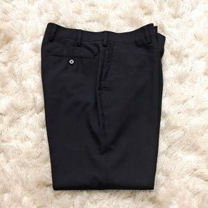 Louis Raphael Mens Black Dress Pants 33x30
